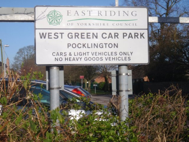 West Green Car Park