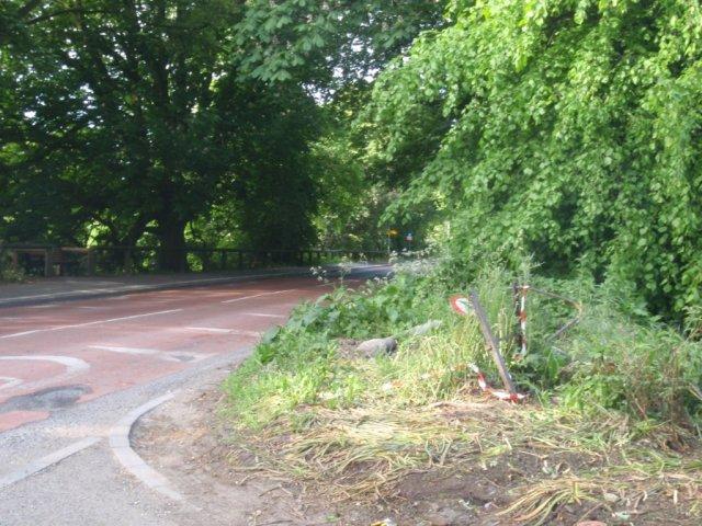 West Green Car Park Exit