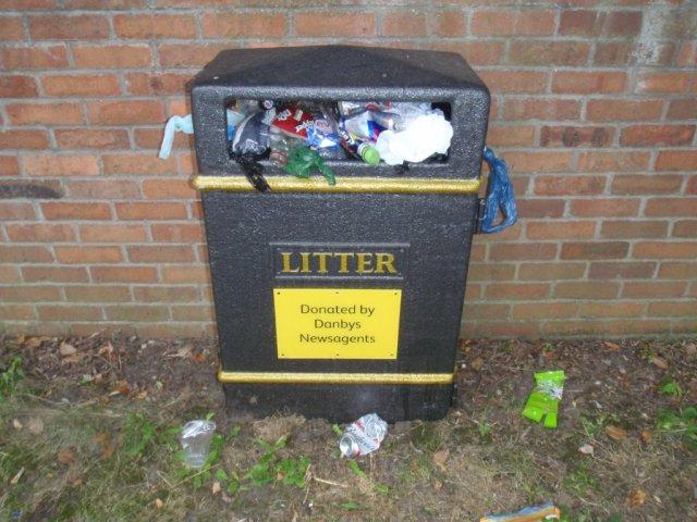 Danbys Litter Bin - Success and Failure