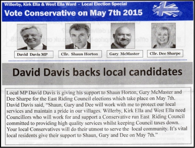 David Davis backs local candidates (2)