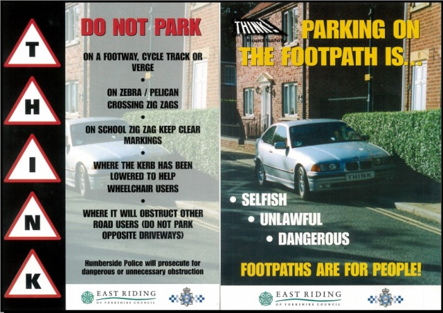Footpath Parking