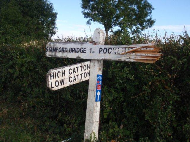 stamford-bridge-to-pocklington-road-sign