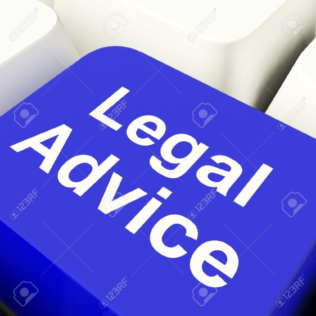 11947786-legal-advice-computer-key-in-blue-showing-lawyer-guidance-stock-photo